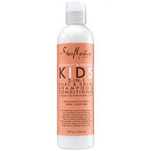 Coconut & Hibiscus Kids 2-IN-1 Curl& Shine Shampoo & Conditioner