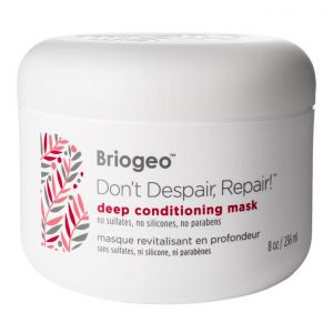 An intensive weekly treatment to restore essential hydration and enhance hair's resilience and strength. ... Don't Despair, Repair!™ Deep Conditioning Mask works in as little as five minutes to restore essential hydration and natural vibrancy to dry, brittle, over-processed hair.