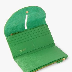 Leather Purse, Green