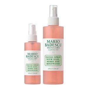 Facial Spray With Aloe Herbs And Rosewater 236ml