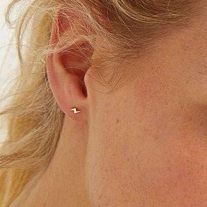 Bolt Stud Earrings