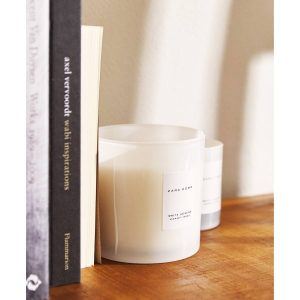 White Jasmine Scented Candle