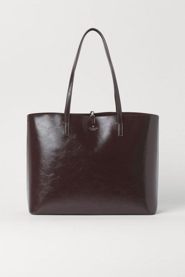 Dark Brown Shopper